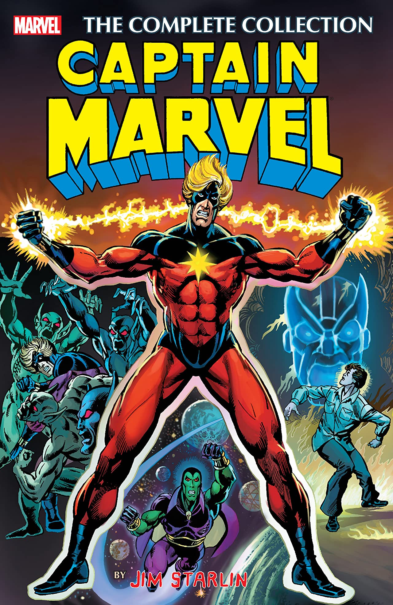 Captain Marvel by Jim Starlin: The Complete Collection Vol 1 1