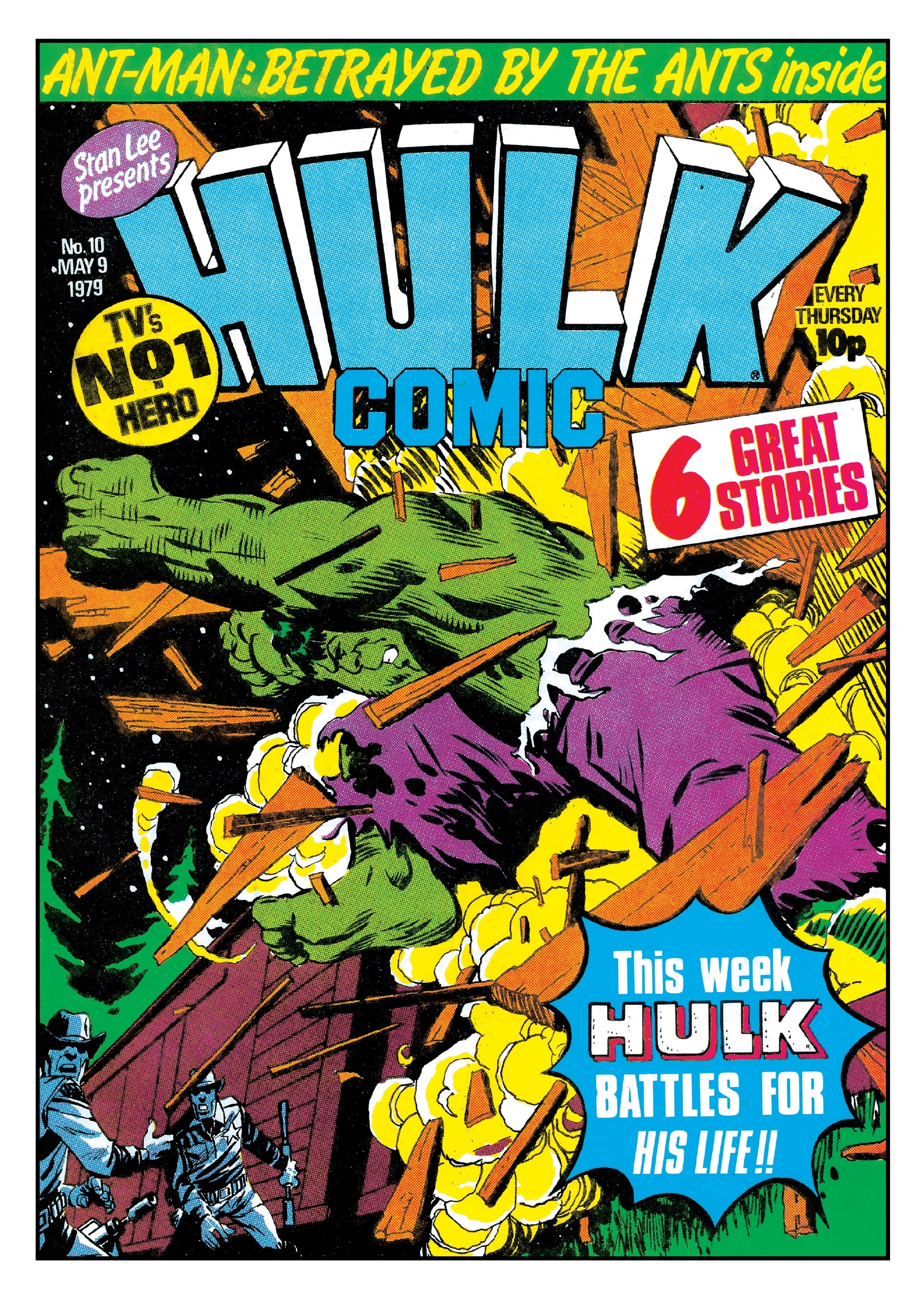 Hulk Comic (UK) Vol 1 10