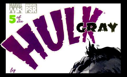Hulk: Gray Vol 1