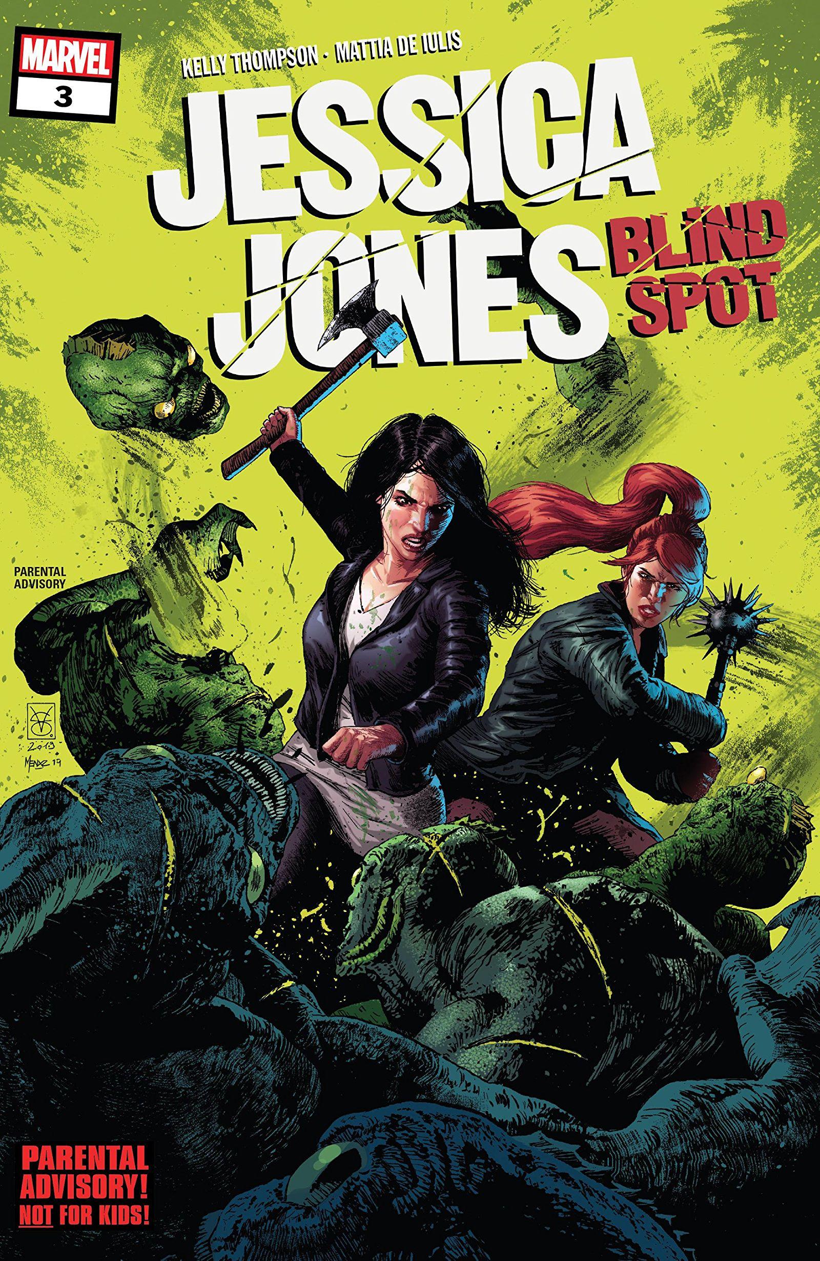 Jessica Jones: Blind Spot Vol 1 3