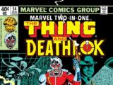 Marvel Two-In-One Vol 1 54