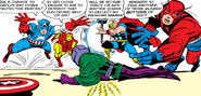 Nathaniel Richards (Kang) (Earth-6311) vs Avengers (Earth-616) from Avengers Vol 1 8 0006