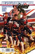 Revolutionary War Supersoldiers Vol 1 1