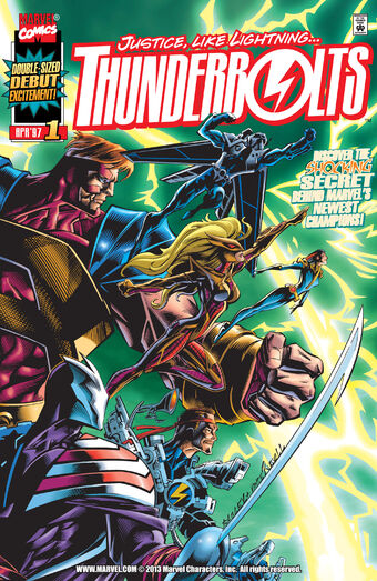 Thunderbolts Vol 1 1 | Marvel Database | Fandom
