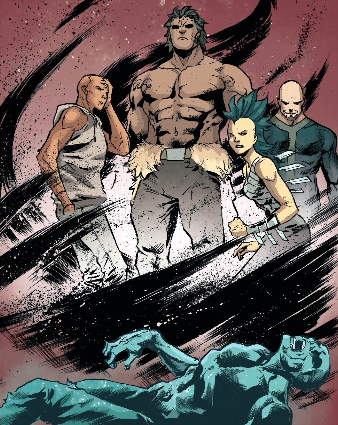 Tribe (Inhumans) (Earth-616)/Gallery