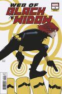 Web of Black Widow Vol 1 1 Garbett Variant