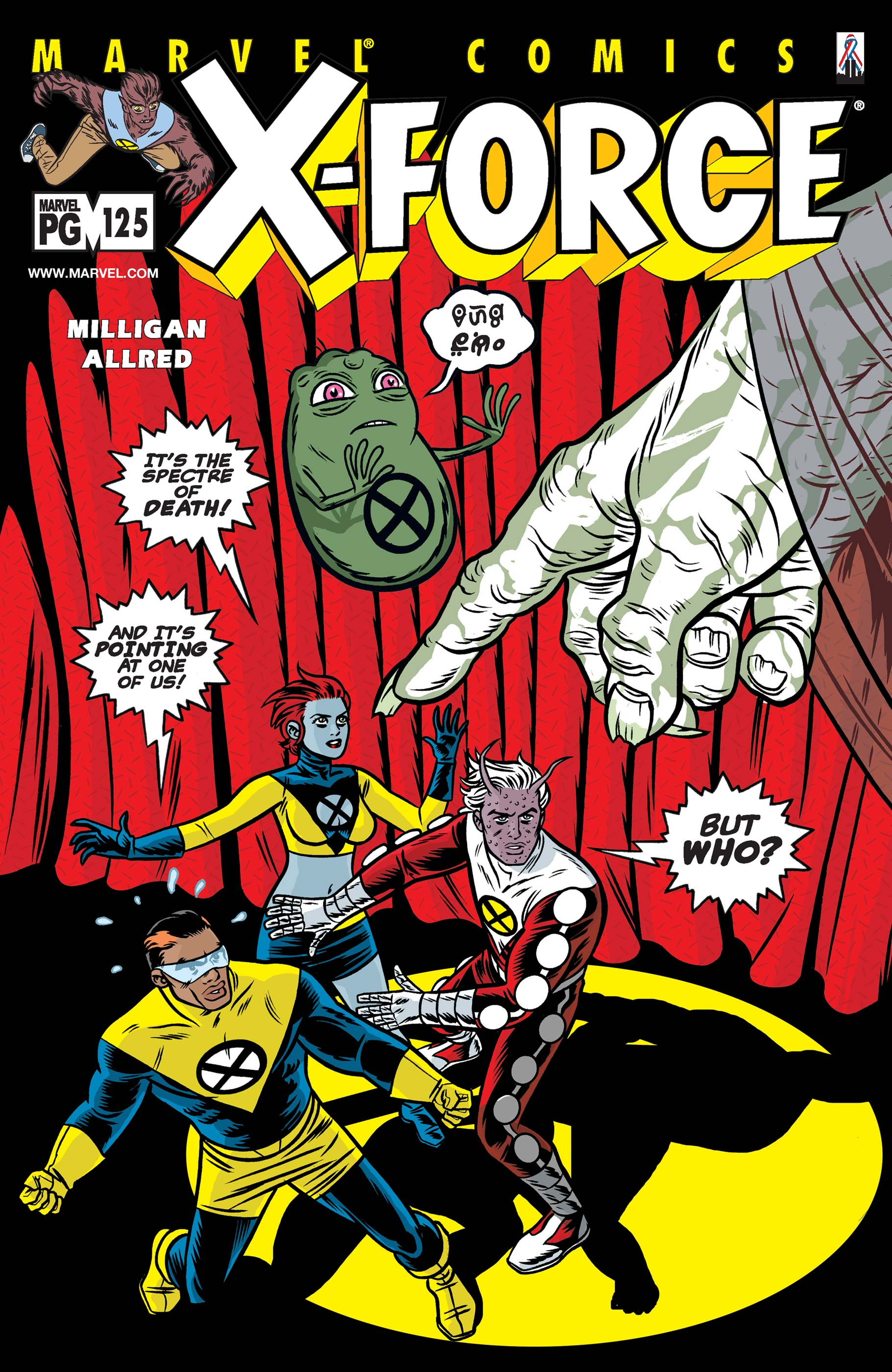X-Force Vol 1 125
