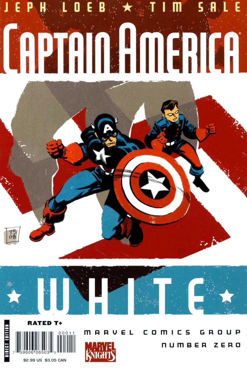 Captain America: White Vol 1 0