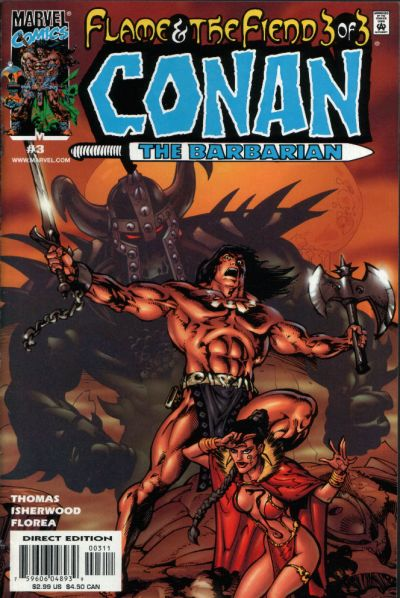 Conan: Flame and the Fiend Vol 1 3