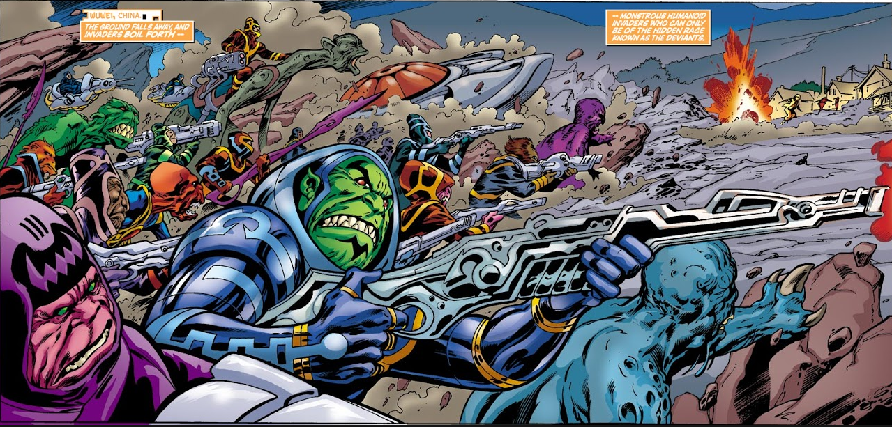 Deviant Army (Earth-616)/Gallery