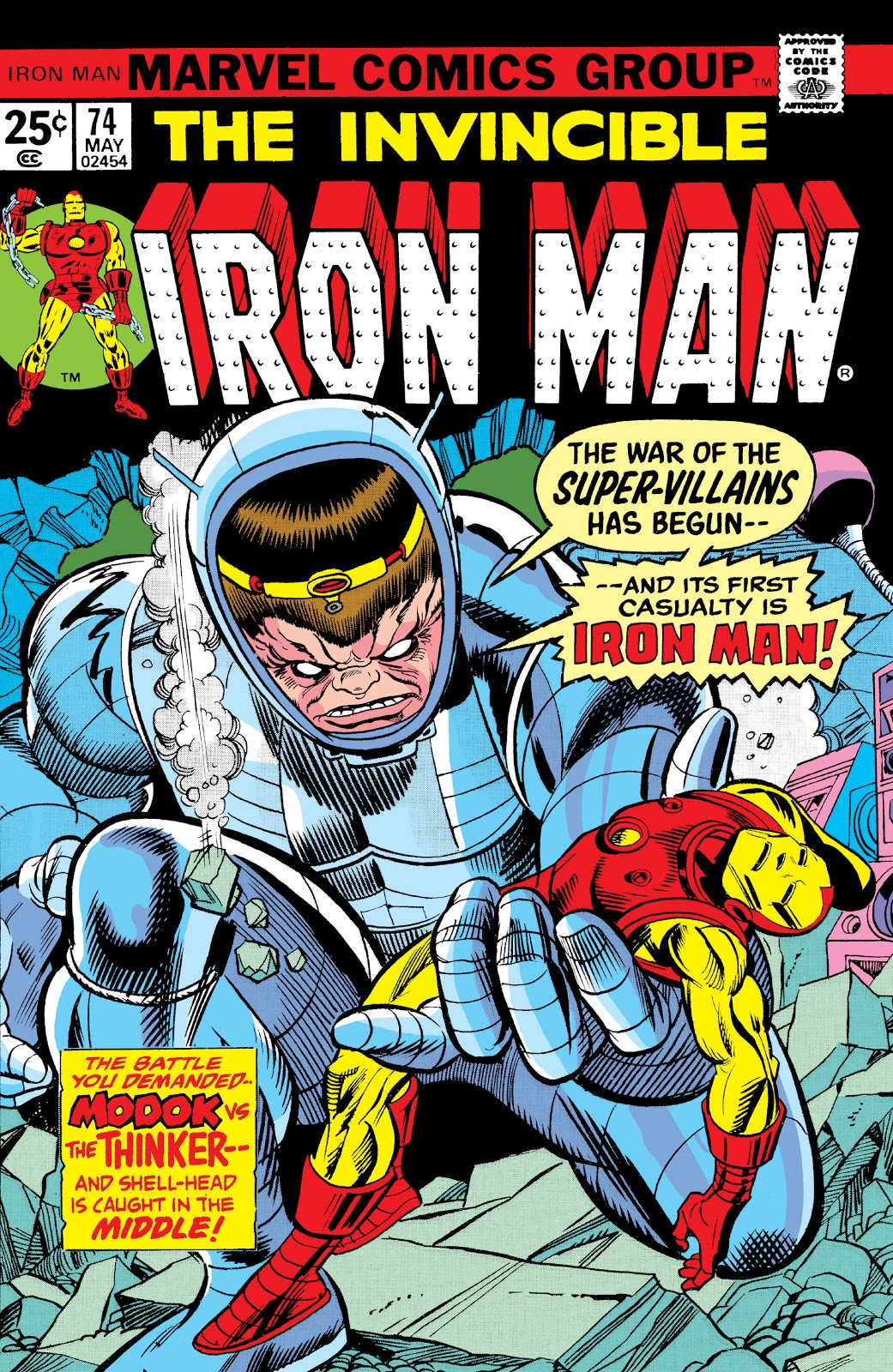 Iron Man Vol 1 74