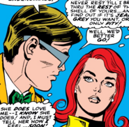 Jean Grey and Scott Summers (Earth-616) from X-Men Vol 1 32 0001