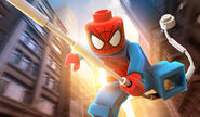 Peter Parker (Earth-13122) from LEGO Marvel Super Heroes 002