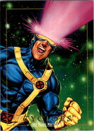 Scott Summers (Earth-616) from Marvel Masterpieces Trading Cards 1992 0001