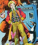 The Doctor (Earth-5556) from Doctor Who The Age of Chaos Vol 1 1 cover