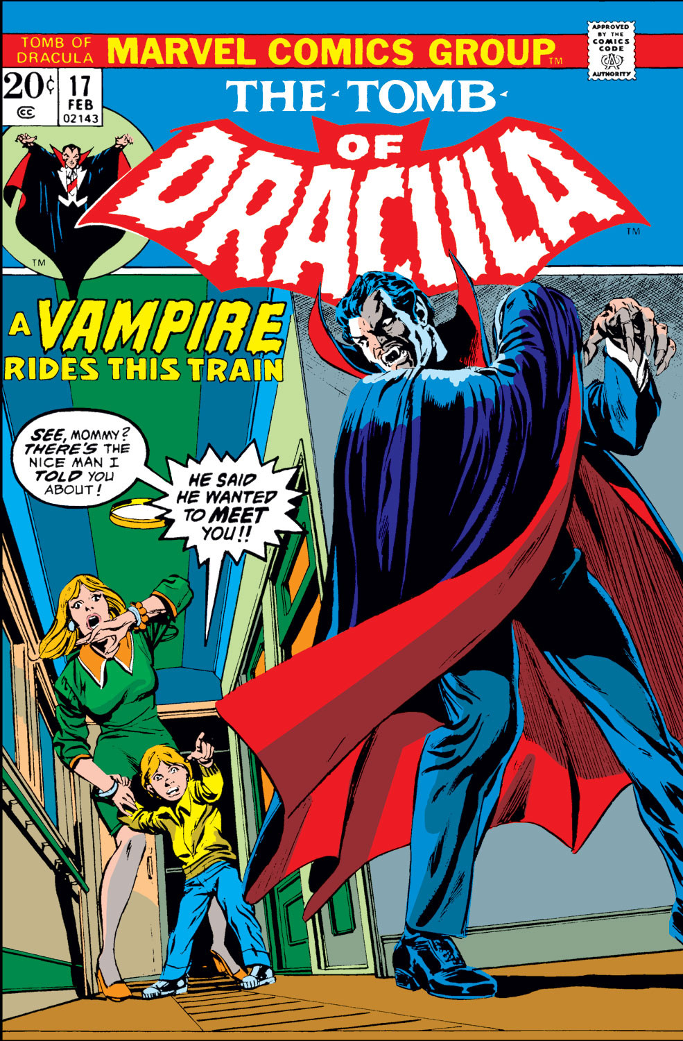 Tomb of Dracula Vol 1 17