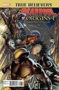 True Believers Deadpool Origins Vol 1 1