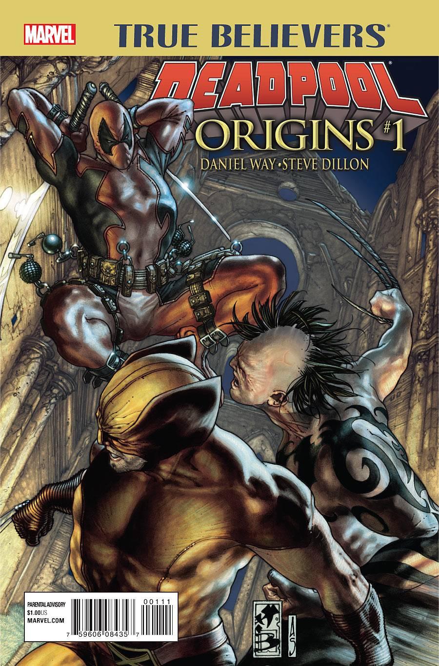 True Believers: Deadpool Origins Vol 1 1