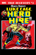 True Believers Marvel Knights 20th Anniversary - Luke Cage, Hero For Hire Vol 1 1