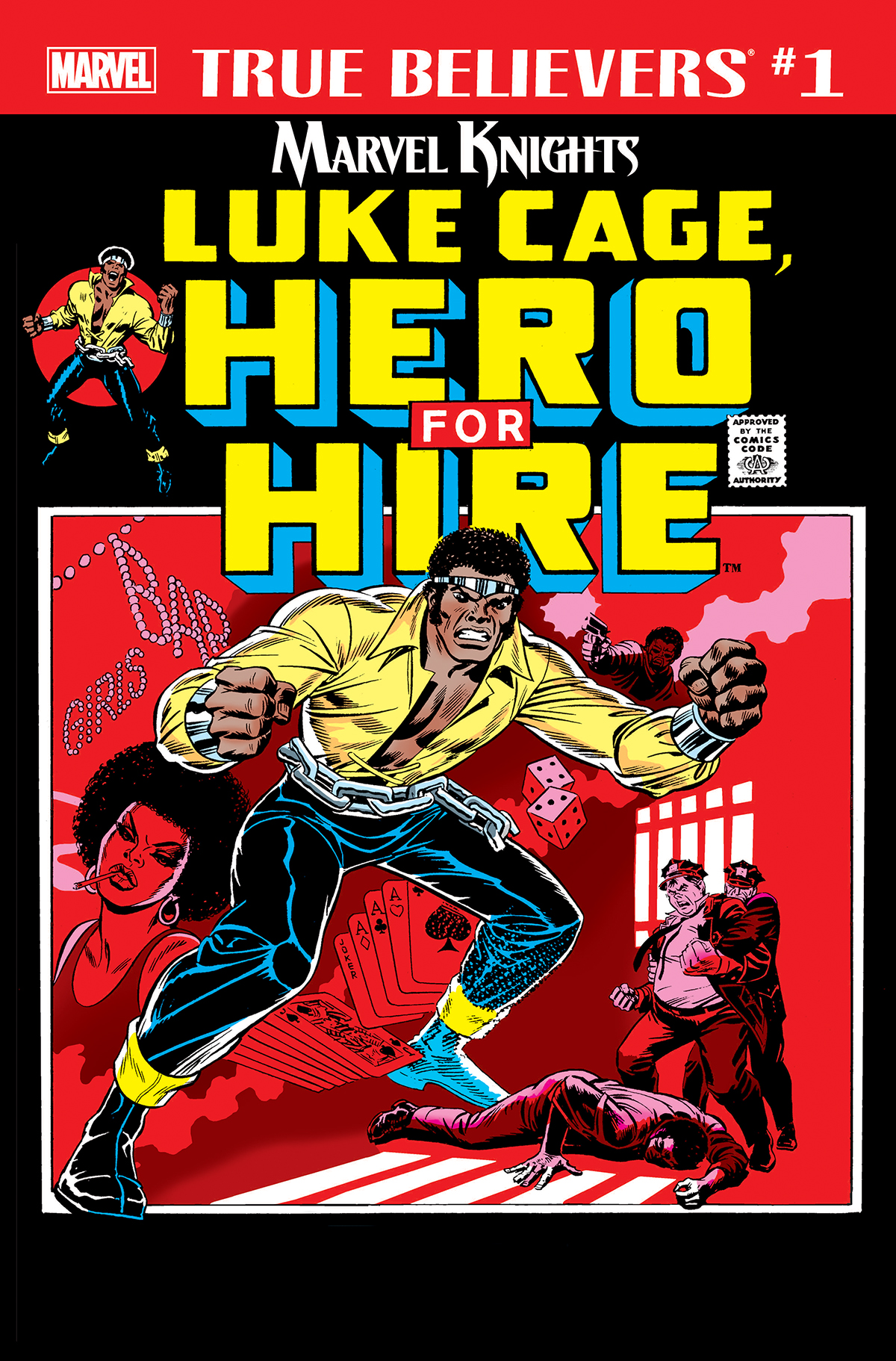 True Believers: Marvel Knights 20th Anniversary - Luke Cage, Hero For Hire Vol 1