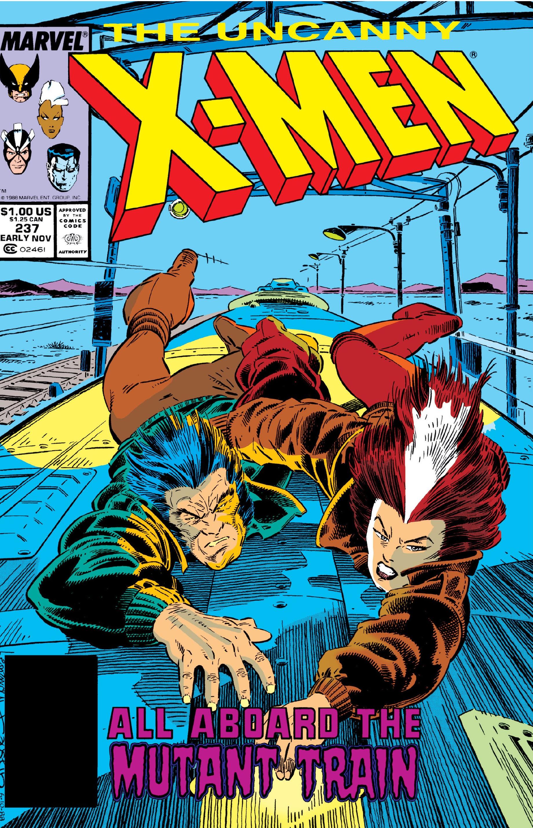 Uncanny X-Men Vol 1 237