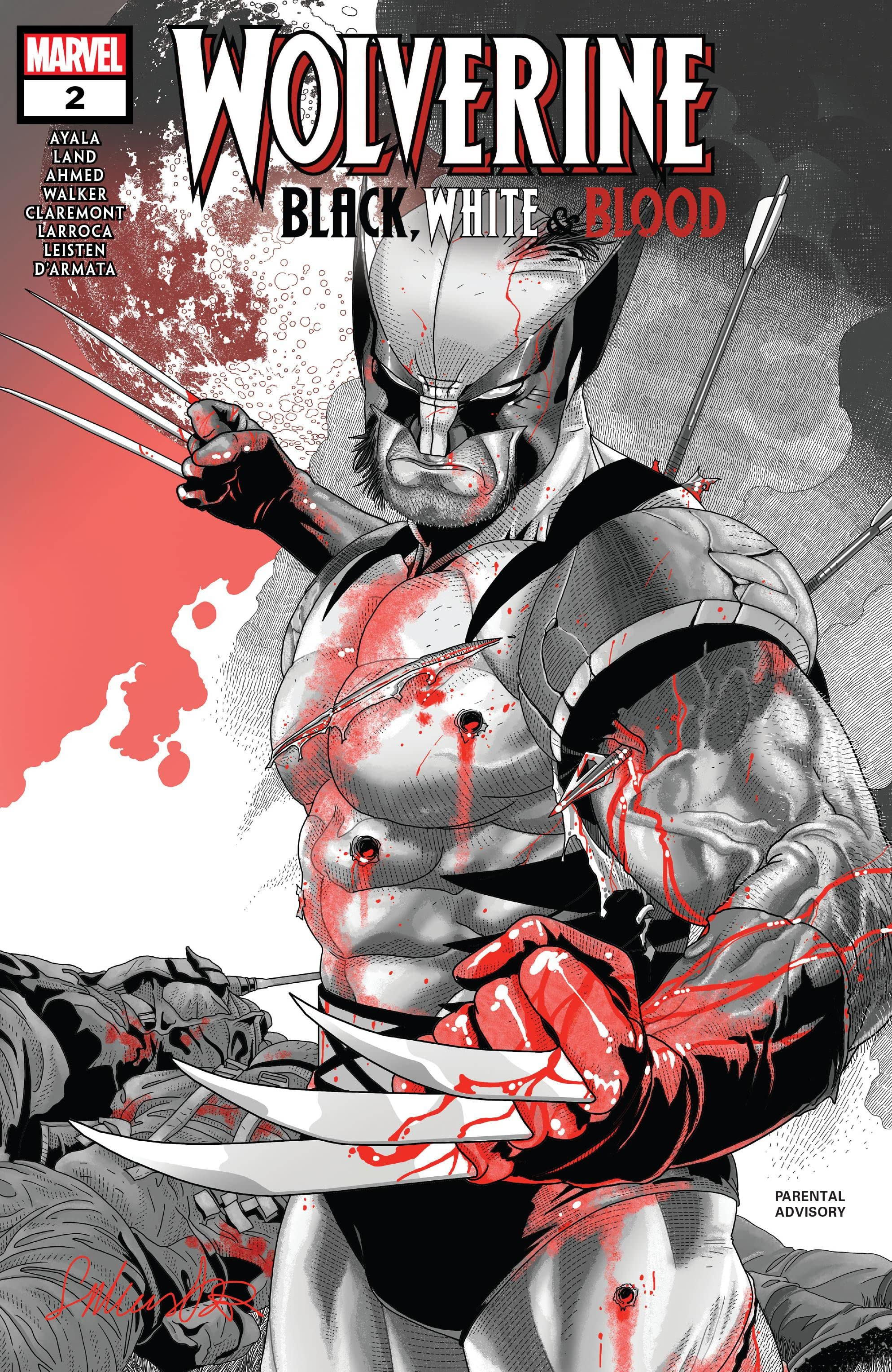 Wolverine: Black, White & Blood Vol 1 2