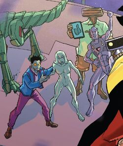 A.I. Army (Earth-TRN813) and Jocasta Pym (Earth-TRN813) from Iron Man 2020 Vol 2 6 001.jpg