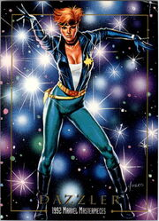 Alison Blair (Earth-616) from Marvel Masterpieces Trading Cards 1992 0001