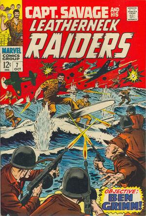 Capt. Savage and his Leatherneck Raiders Vol 1 7.jpg