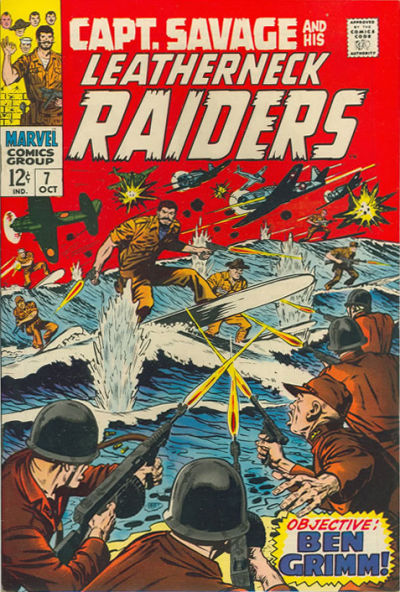 Capt. Savage and his Leatherneck Raiders Vol 1 7