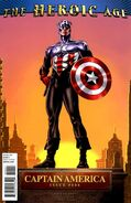 Captain America Vol 1 606 Heroic Age Variant
