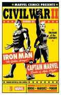 Civil War II Vol 1 1 Cho Variant Textless