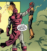 Herbert Wyndham (Earth-616) and Samuel Alexander (Earth-616) from New Warriors Vol 5 11.png