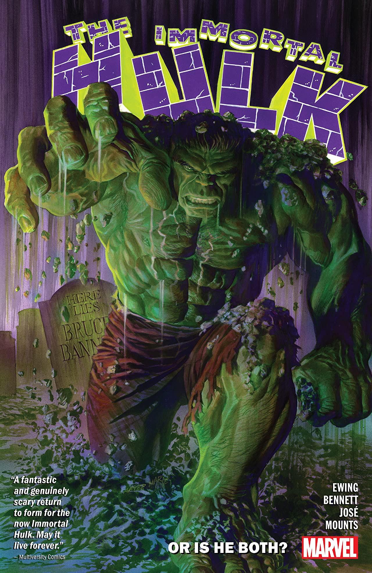 Immortal Hulk TPB Vol 1 1: Or Is He Both?