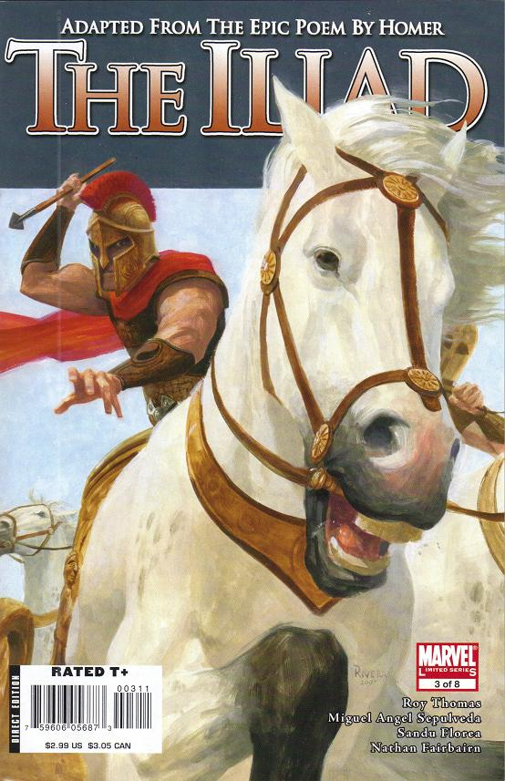 Marvel Illustrated: The Iliad Vol 1 3