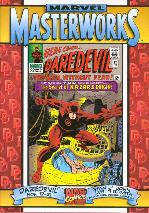 Marvel Masterworks: Daredevil Vol 1 2