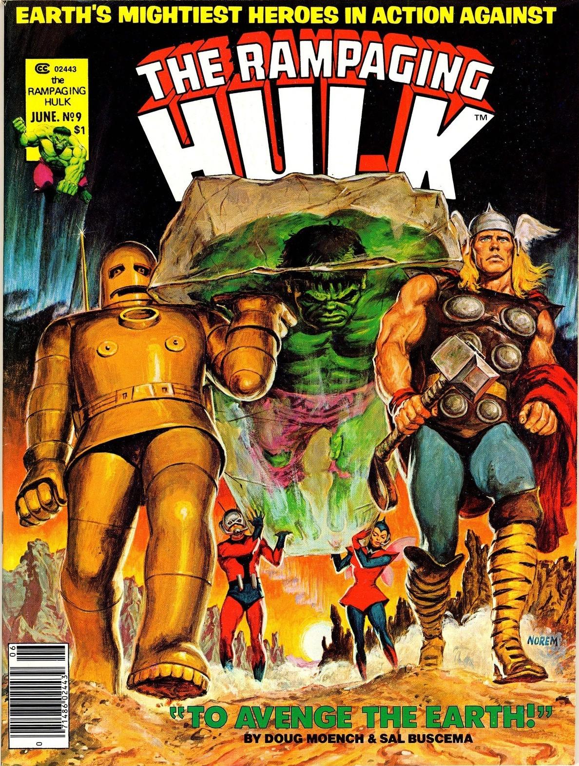 Rampaging Hulk Vol 1 9