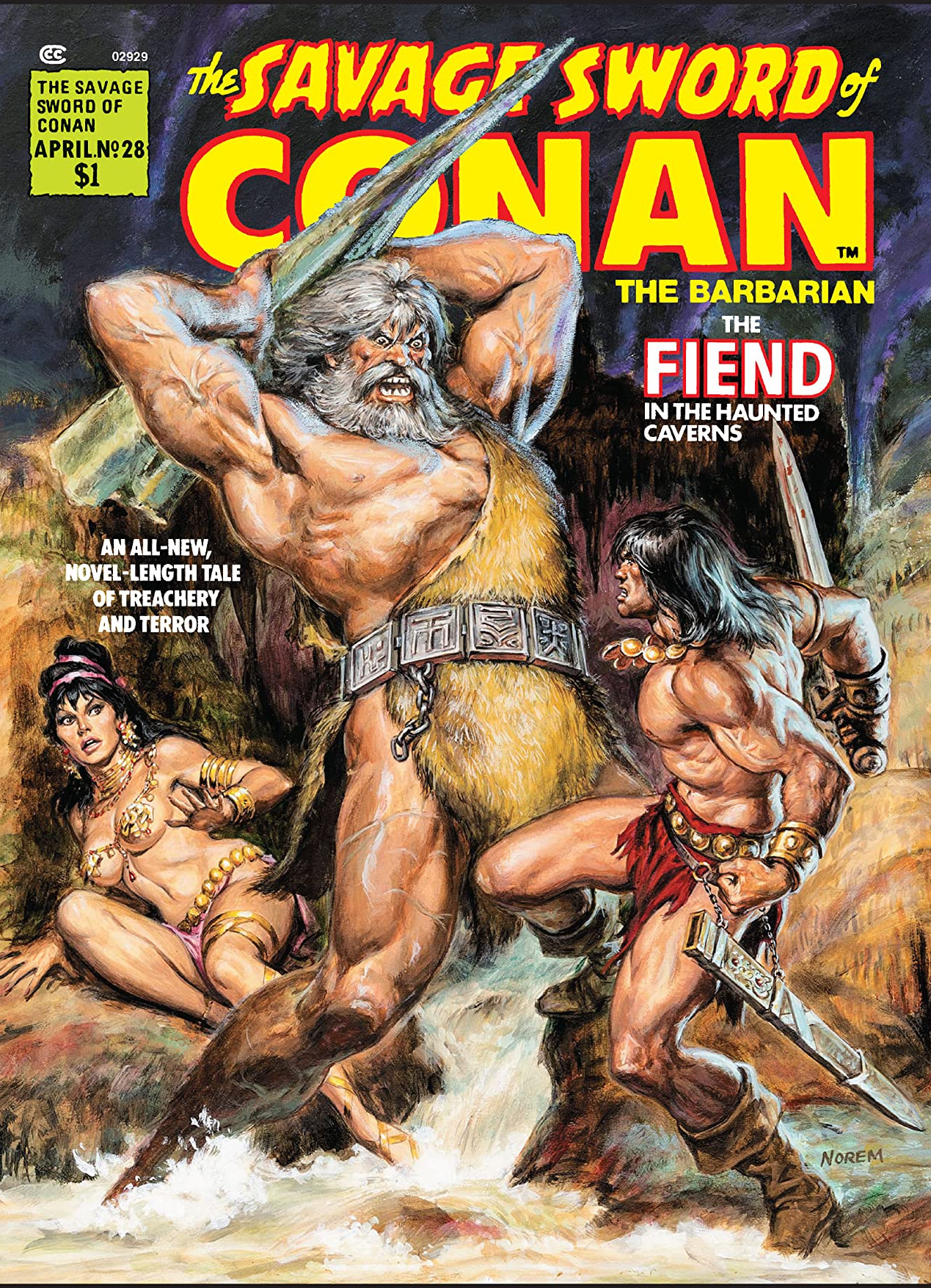 Savage Sword of Conan Vol 1 28