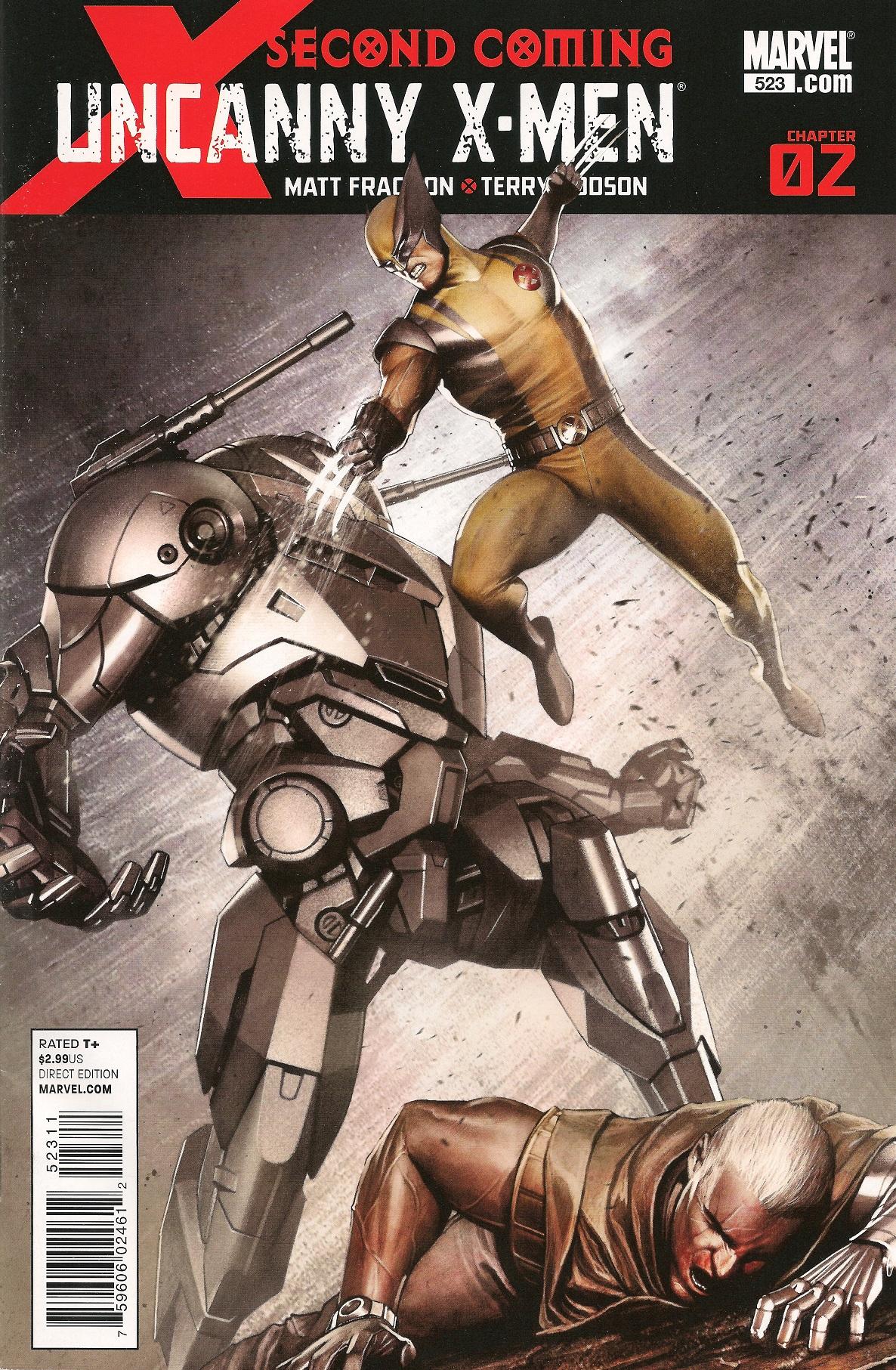 Uncanny X-Men Vol 1 523