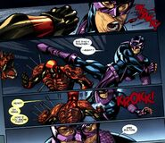 Wade Wilson and Bullseye (Lester) (Earth-616) from Deadpool Vol 4 11 0001
