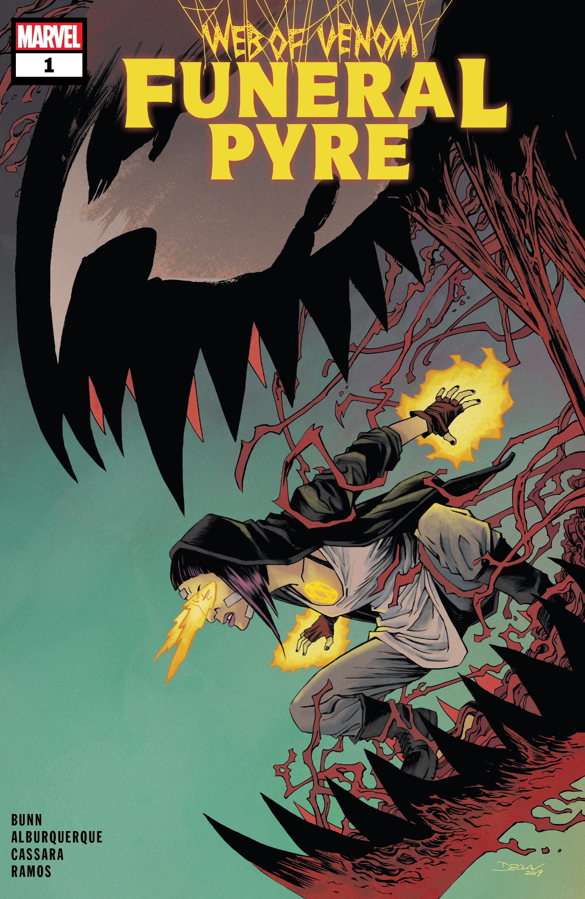 Web of Venom: Funeral Pyre Vol 1 1