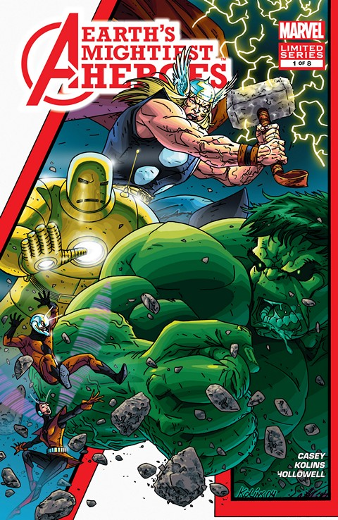 Avengers: Earth's Mightiest Heroes Vol 1 1