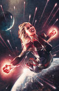 Captain Marvel Vol 10 21 Unknown Comic Books Exclusive Virgin Variant
