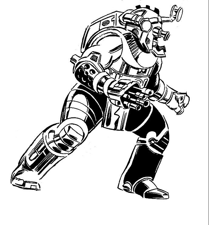Pacifier Robot (Earth-616)