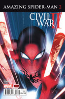 Civil War II Amazing Spider-Man Vol 1 2