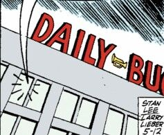 Daily Bugle (Earth-77013) Spider-Man Newspaper Strips.jpg