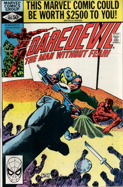 Daredevil Vol 1 166