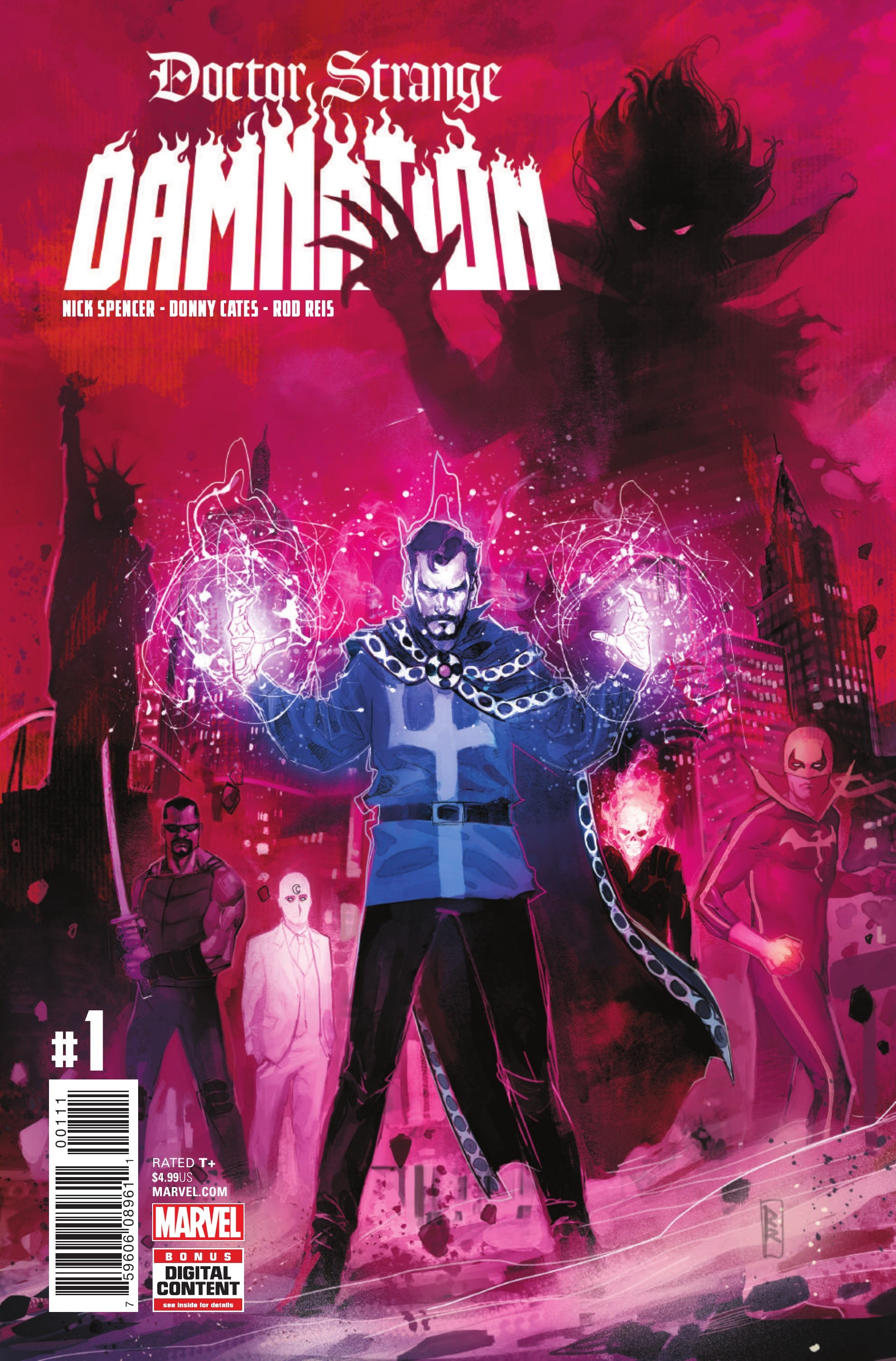 Doctor Strange: Damnation Vol 1 1