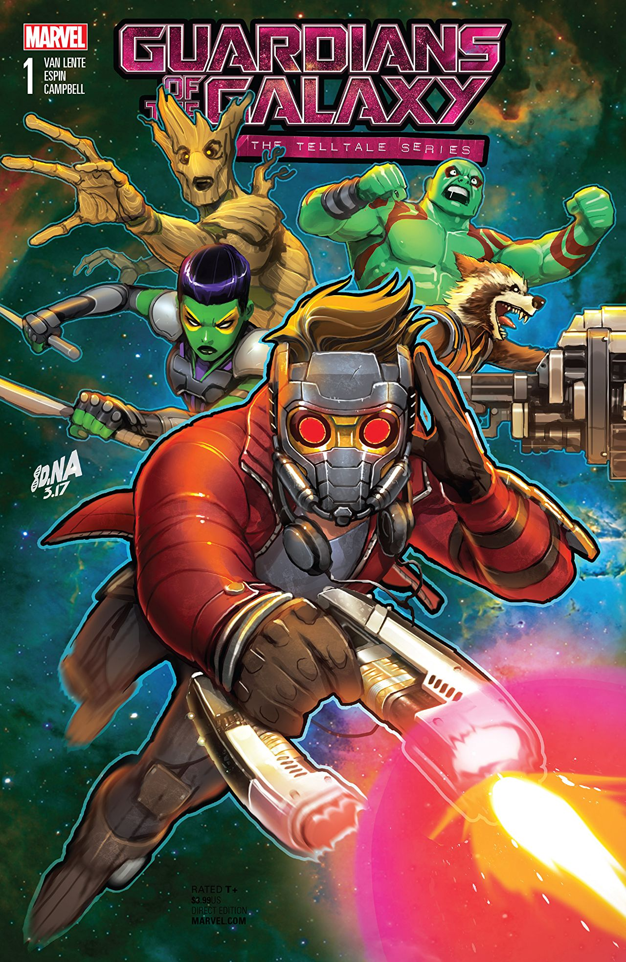 Guardians of the Galaxy: Telltale Games Vol 1 1