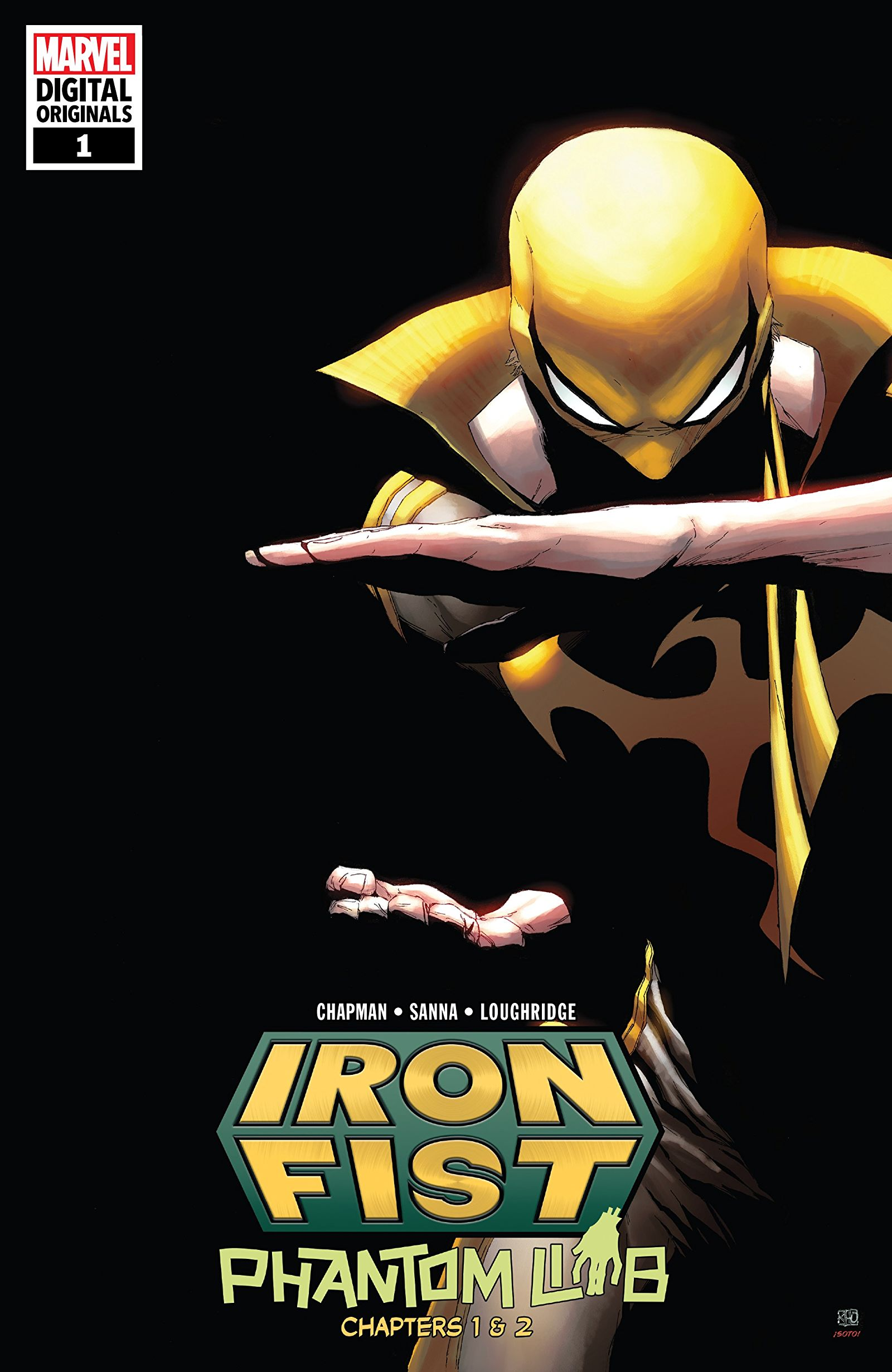 Iron Fist - Marvel Digital Original Vol 1 1